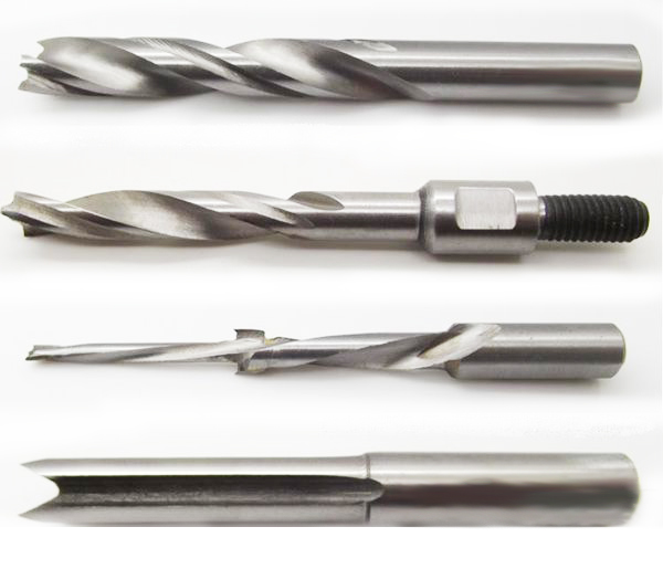 What is the difference between a carpenter drill bit and a metal drill bit?