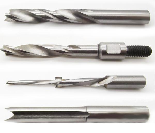 Qual é a diferença entre uma broca de carpinteiro e uma broca de metal?