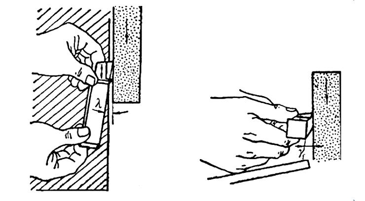 Herramienta de torno de afilado fino Afilado de achaflanado negativo