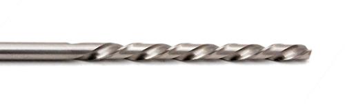 L'acciaio ad alta velocità (HSS) è un materiale molto diffuso per la foratura di acciai morbidi, legno e plastica. È una soluzione economica per la maggior parte delle applicazioni di perforazione di manutenzione.