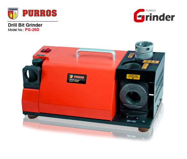 Drill Bit Sharpener, Drill Bit Grinding Machine, Precision Twist Drill Bit Sharpening Machine, Electric Drill Bit Sharpener, PURROS PG-26D Drill Bit Re-sharpening Machine, Drill Bit Sharpener Manufacturer, Drill Bit Grinder, Buy Cheap Drill Bit Grinder