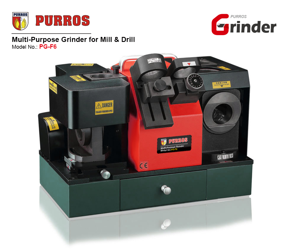 PURROS PG-F6 Multi-Purpose Grinder for Mill & Drill for sale