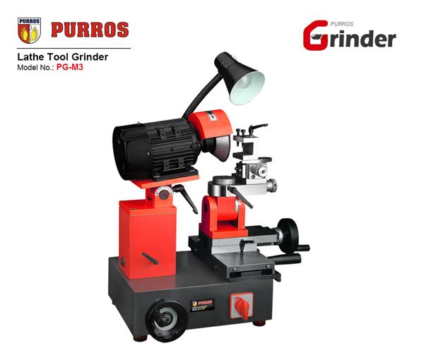 PURROS PG-M2 Tour à Outils | comment meuler des outils de coupe d'outil de tour?