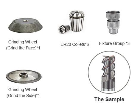 end mill grinder, end mill sharpener