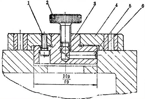 Estructura de la plantilla de perforación taladro plano Top Jig