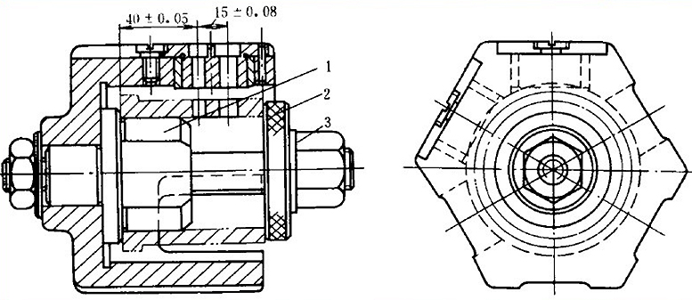Structure of Drilling Jig Turnover Drill Jig