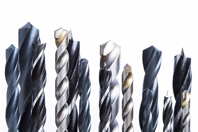 Drill bit Materiali e acciai