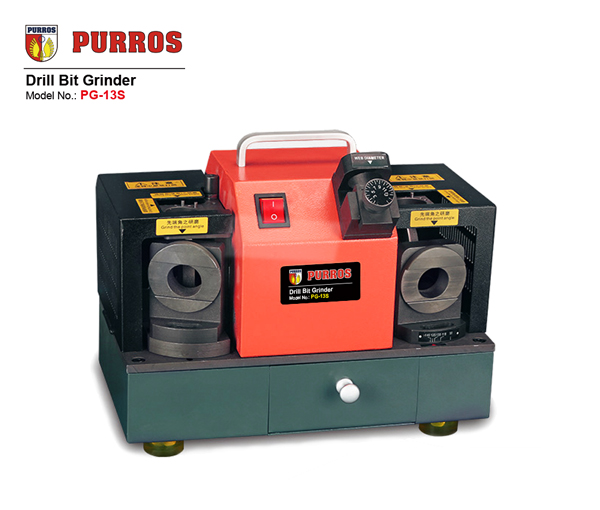 PURROS PG-13S Drill Bit Grinder can grind DG drills and twist drills.