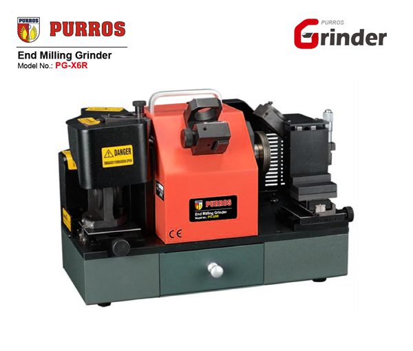 PURROS PG-X6R Spiral end mill sharpening machine, end mill re-sharpener manufacturer