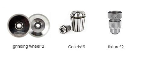 PURROS PG-X6R Affilatrice a spirale per frese a candela, produttore di riaffilatori per frese a candela, smerigliatrice per frese a candela