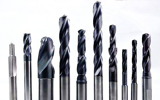 metal bits. metal drill bits are used in spotting hole centers