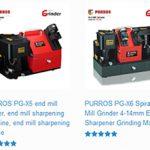End mill grinder, end mill re-sharpening machine manufacturer, exporter and supplier