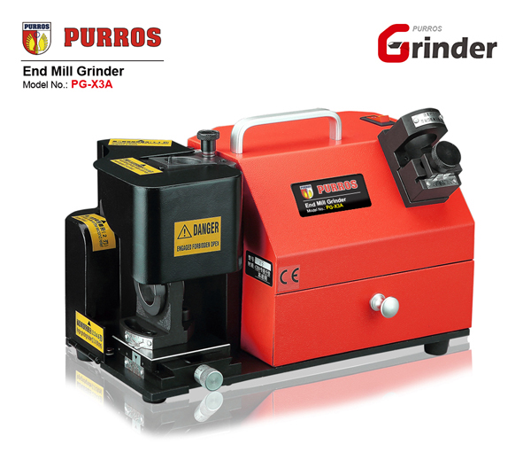 PURROS PG-X3A End Mill Grinder, Drill Bit Grinding Machine, Drill Bit Grinder