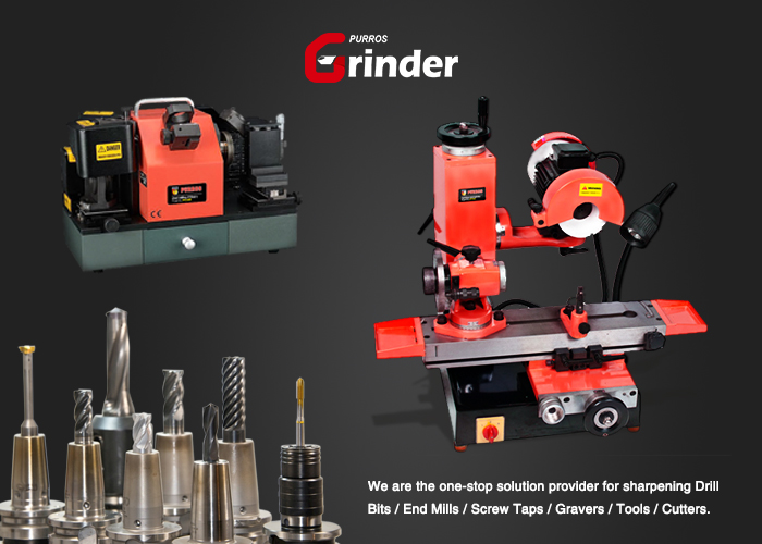 www.drillbitgrinder.com The Universal Tool Grinder is offered by Purros Machinery Co., Ltd., a professional OEM/ODM tool grinder manufacturer and supplier, End Mill Grinder, Twist Drill Grinder, Lathe Cutter Grinder, Carving Tool Grinder, Drill Sharpener, Universal Grinder, etc.